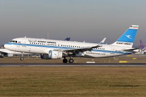 Kuwait Airways Airbus 320