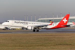 Helvetic Airways Embraer E190 (Switzerland)