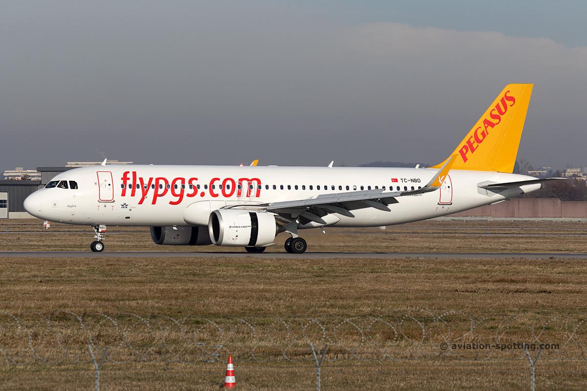 Pegasus Airlines Airbus A320 (Turkey)