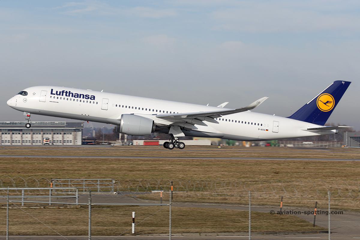 Lufthansa Airbus A350-900 (Germany)