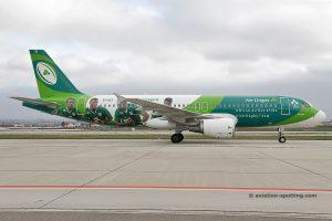 Aer Lingus 320 (Ireland) rugby team