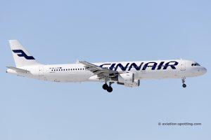 Finnair Airbus 321 (Finland)
