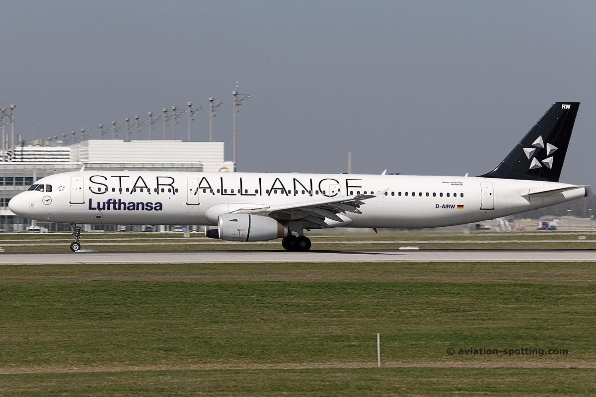 Lufthansa Airbus A321 (Germany)