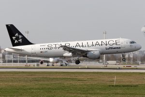 Lufthansa Airbus 320 (Germany) Star Alliance