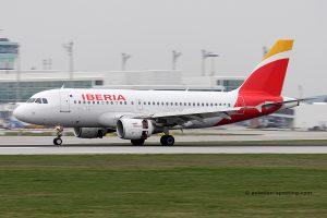 Iberia Airbus 319 (Spain)