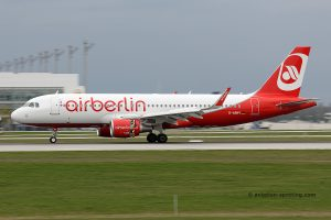 Air Berlin Airbus 320 (Germany)