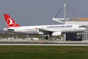Turkish Airlines Airbus 320 (Turkey)