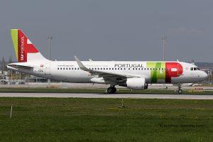 TAP Portugal Airbus 320