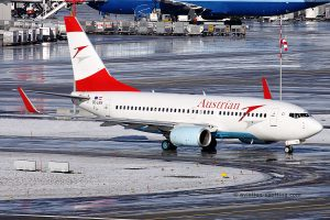 Austrian Airlines Boeing B737-700