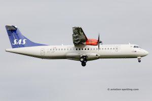 SAS Scandinavian Airlines Aerospatiale ATR72