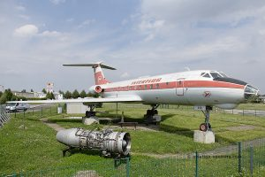 Interflug Tupolev TU 134 (GDR)