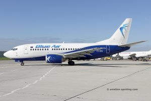 Blue Air Boeing B737-500 (Romania)
