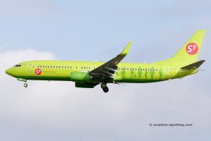 S7 Airlines Boeing B737-800 (Russia)