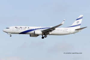 El Al Israel Airlines Boeing B737-900