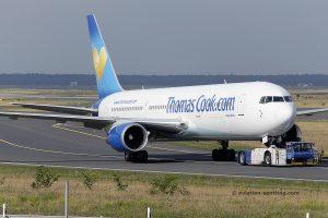 Thomas Cook Airlines Boeing B767-300 (United Kingdom)