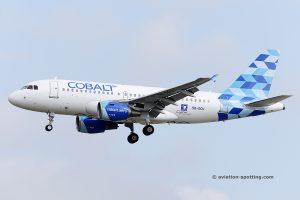 Cobalt Air Airbus 319 (Cyprus)