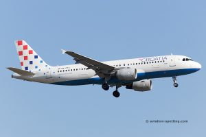 Croatia Airlines Airbus 320
