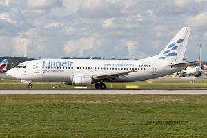 Ellinair Boeing B737-300 (Greece)