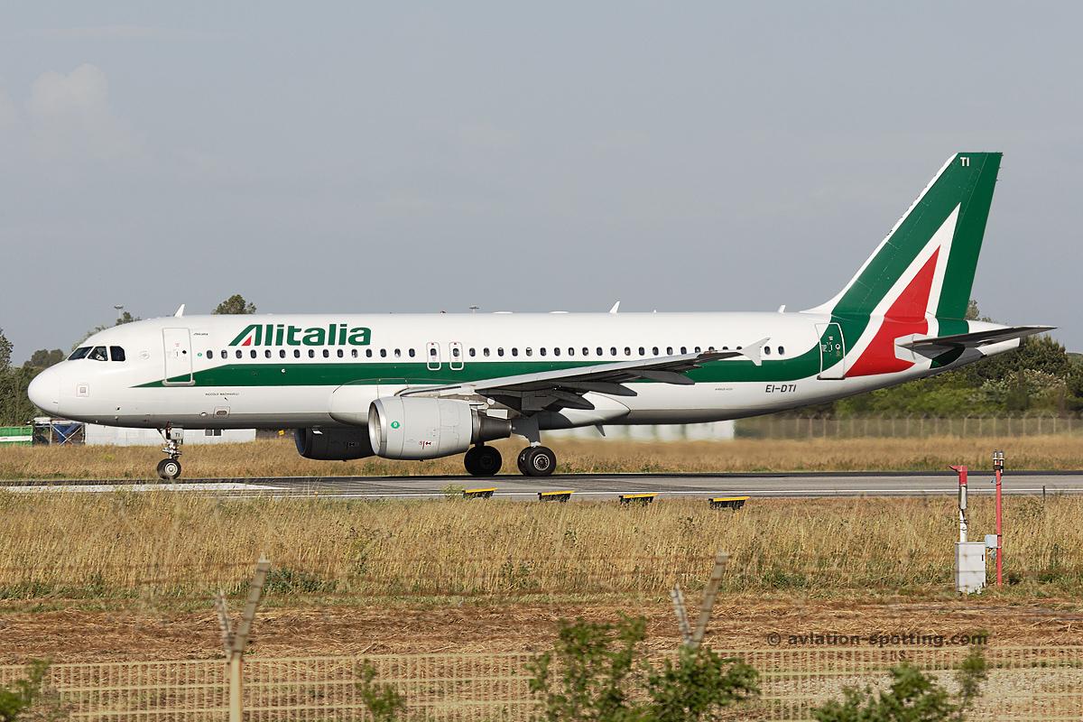 Alitalia Airbus A320 (Italy)