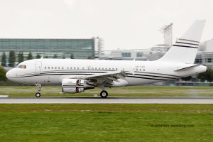 Constellation Aviation Services Airbus 318 Elite