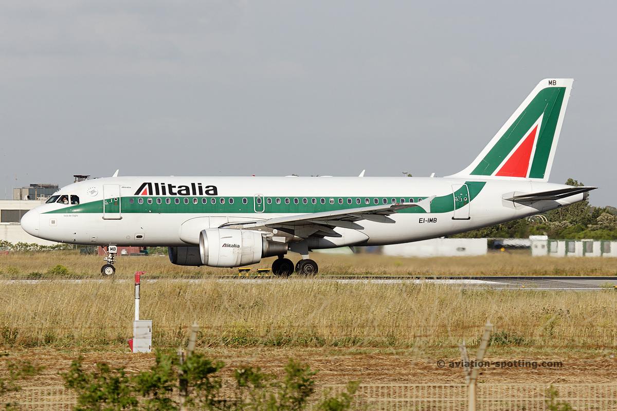 Alitalia Airbus A319 (Italy)