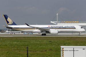 Singapore Airlines Airbus 350-900