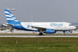 Ellinair Airbus 319 (Greece)