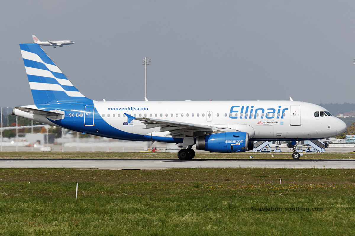 Ellinair Airbus 319 (Greece)