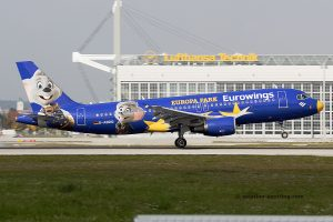 Eurowings Airbus 320 (Germany) Europa Park livery