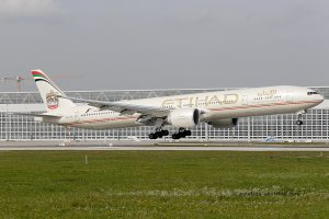 Etihad Airways Boeing B777-300 (UAE)