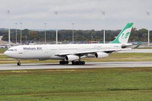 Mahan Air Airbus 340-300 (Iran)