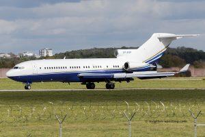 VP-BAP Boeing B727-200 Private