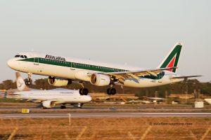 Alitalia Airbus 321 (Italy)