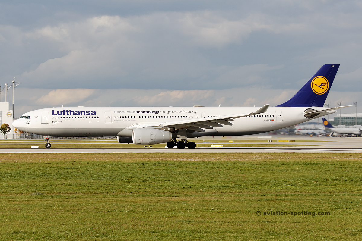 Lufthansa Airbus A330-300 (Germany)