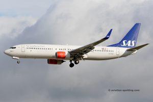 SAS Scandinavian Airlines Boeing B737-800