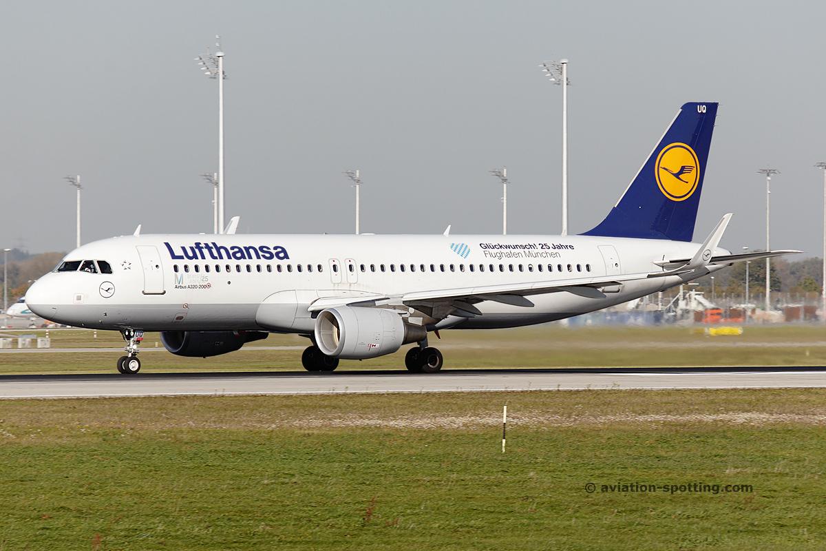 Lufthansa Airbus A320 (Germany)