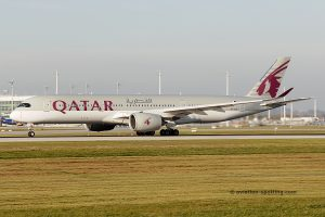 Qatar Airways Airbus 350-900