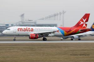 Air Malta, Airbus 320
