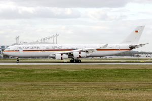 German Air Force Airbus 340-300