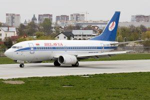 Belavia Belarusian Airlines Boeing B737-500