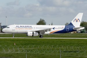 AlMasria Universal Airlines Airbus 320 (Egypt)