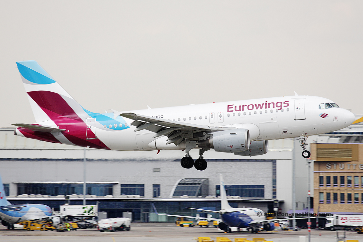 Eurowings Airbus A319 (Germany)