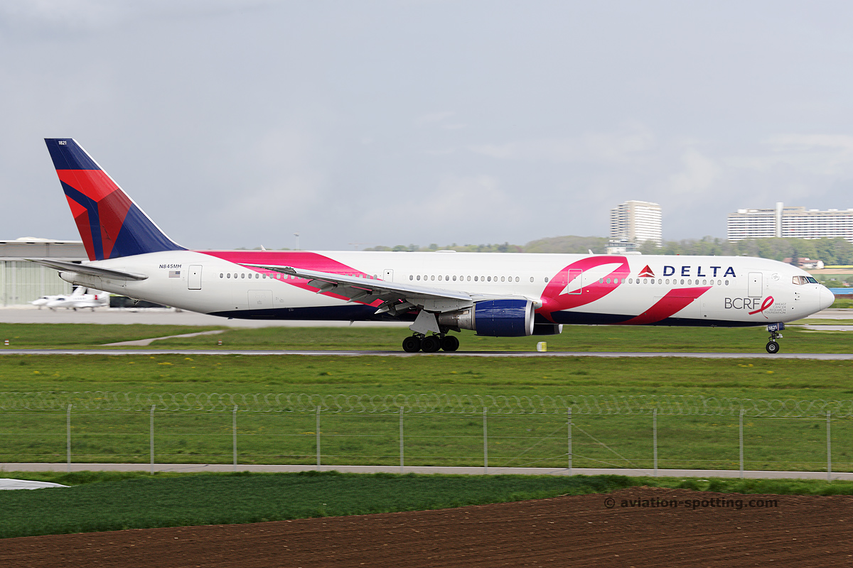 Delta Air Lines Aircraft Fleet And Livery Photography