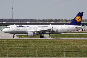 Lufthansa Airbus 320
