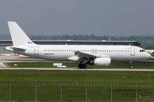Adria Airways Airbus 320 (Slovenia)
