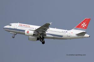 Air Malta Airbus 319