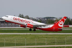 Air Berlin Turkey Boeing B737-800