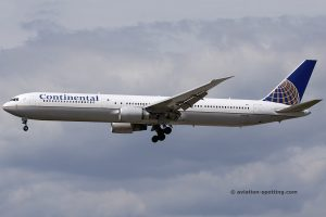 Continental Airlines Boeing B767-400 (USA)