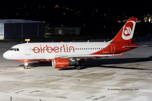 Air Berlin Airbus 319 (Germany)