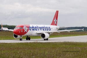 Edelweiss Air Airbus 320 (Switzerland)